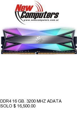 DDR4 16 GB. 3200 MHZ ADATA XPG SPECTRIX BULK:
