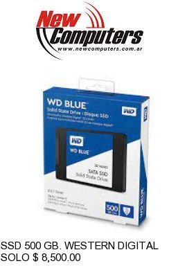 SSD 500 GB. WESTERN DIGITAL BLUE: