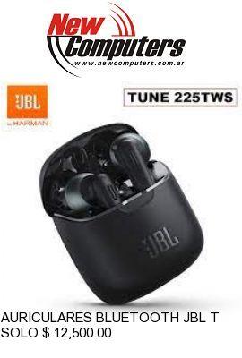 AURICULARES BLUETOOTH JBL T225TWS: