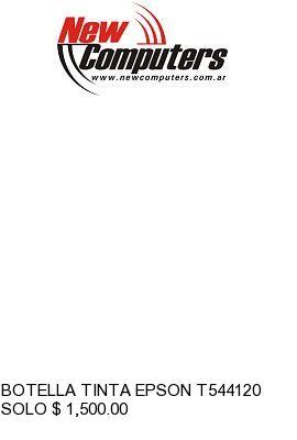 BOTELLA TINTA EPSON T544120 NEGRO: