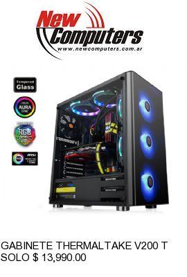 GABINETE THERMALTAKE V200 TG RGB: