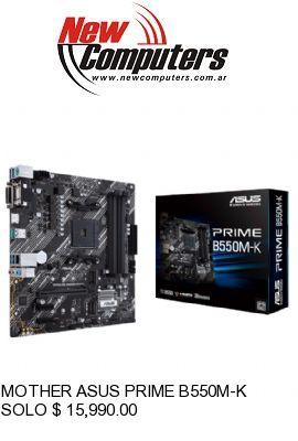 MOTHER ASUS PRIME B550M-K: