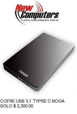 COFRE USB 3.1 TYPRE C NOGA CD3 3.1: