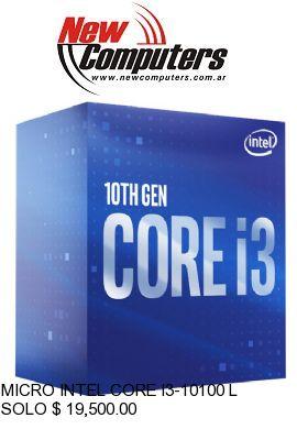 MICRO INTEL CORE I3-10100 LGA1200: