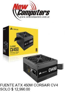 FUENTE ATX 450W CORSAIR CV450: