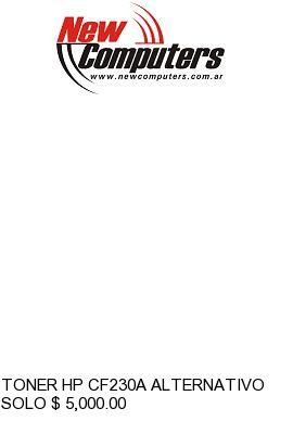 TONER HP CF230A ALTERNATIVO:
