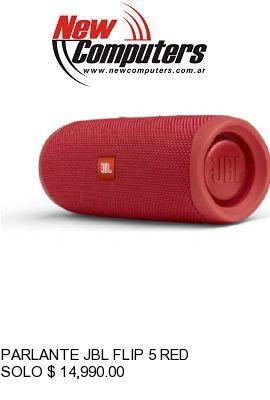 PARLANTE JBL FLIP 5 RED: