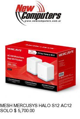 MESH MERCUSYS HALO S12 AC1200 PACK X2: