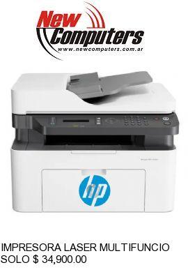IMPRESORA LASER MULTIFUNCION HP MFP 137FNW:
