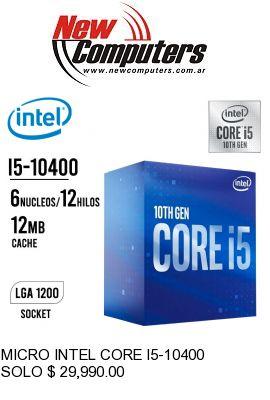 MICRO INTEL CORE I5-10400: