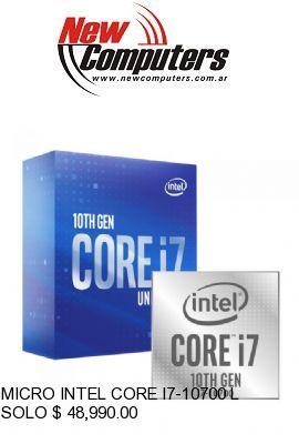 MICRO INTEL CORE I7-10700 LGA1200: