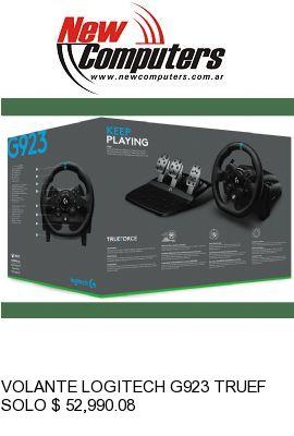VOLANTE LOGITECH G923 TRUEFORCE PC/XBOX/PS4: