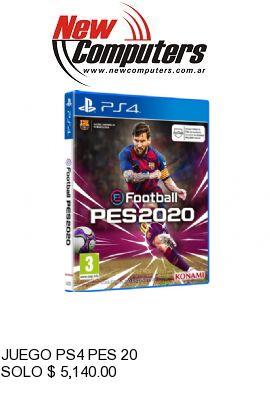 JUEGO PS4 PES 20: