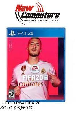JUEGO PS4 FIFA 20: