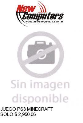 JUEGO PS3 MINECRAFT: