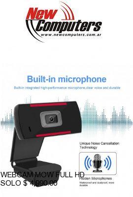 WEBCAM MOW FULL HD: