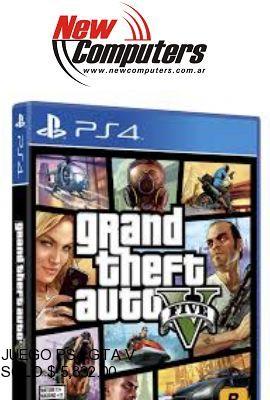 JUEGO PS4 GTA V: