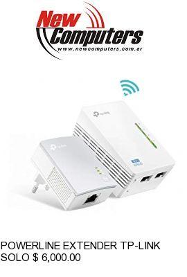 POWERLINE EXTENDER TP-LINK TL-WPA4220 KIT 300 MBPS: