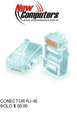 CONECTOR RJ-45:
