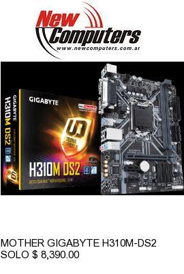 MOTHER GIGABYTE H310M-DS2: