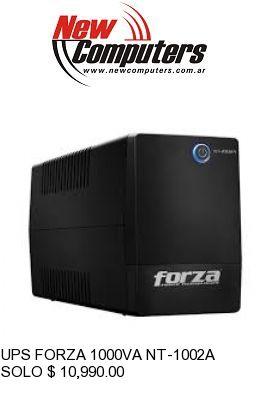 UPS FORZA 1000VA NT-1002A: