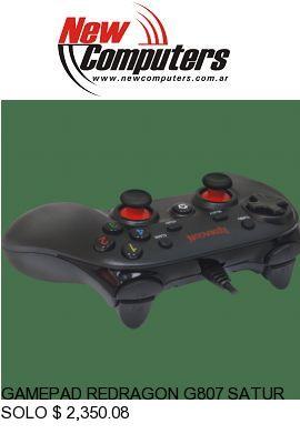 GAMEPAD REDRAGON G807 SATURN - PC/PS3:
