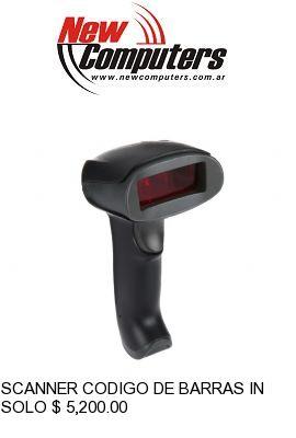 SCANNER CODIGO DE BARRAS INALAMBRICO NETMAK NM-LC502: