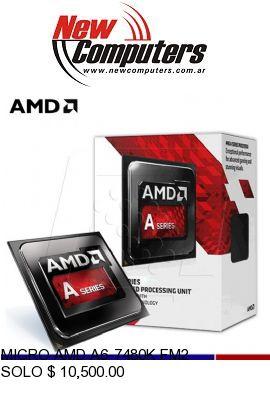 MICRO AMD A6-7480K FM2: