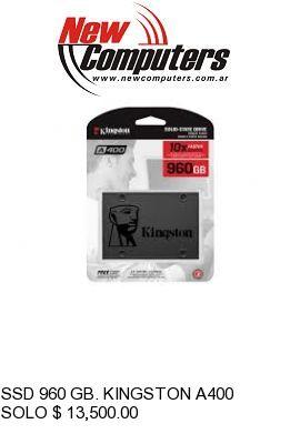 SSD 960 GB. KINGSTON A400: