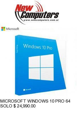 MICROSOFT WINDOWS 10 PRO 64B OEM SPANISH: