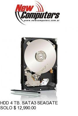 HDD 4 TB. SATA3 SEAGATE: