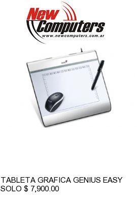 TABLETA GRAFICA GENIUS EASYPEN i608X: