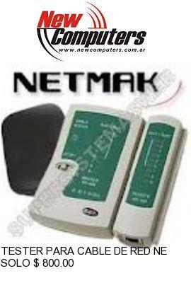 TESTER PARA CABLE DE RED NETMAK NM-R05: