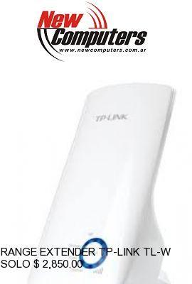 RANGE EXTENDER TP-LINK TL-WA850RE:Repetidor de Se�al WIFI Universal de tama�o compacto!