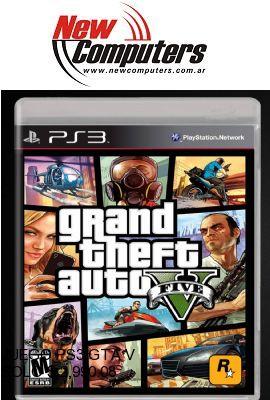 JUEGO PS3 GTA V:
