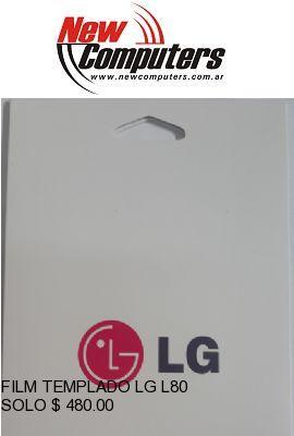 FILM TEMPLADO LG L80: